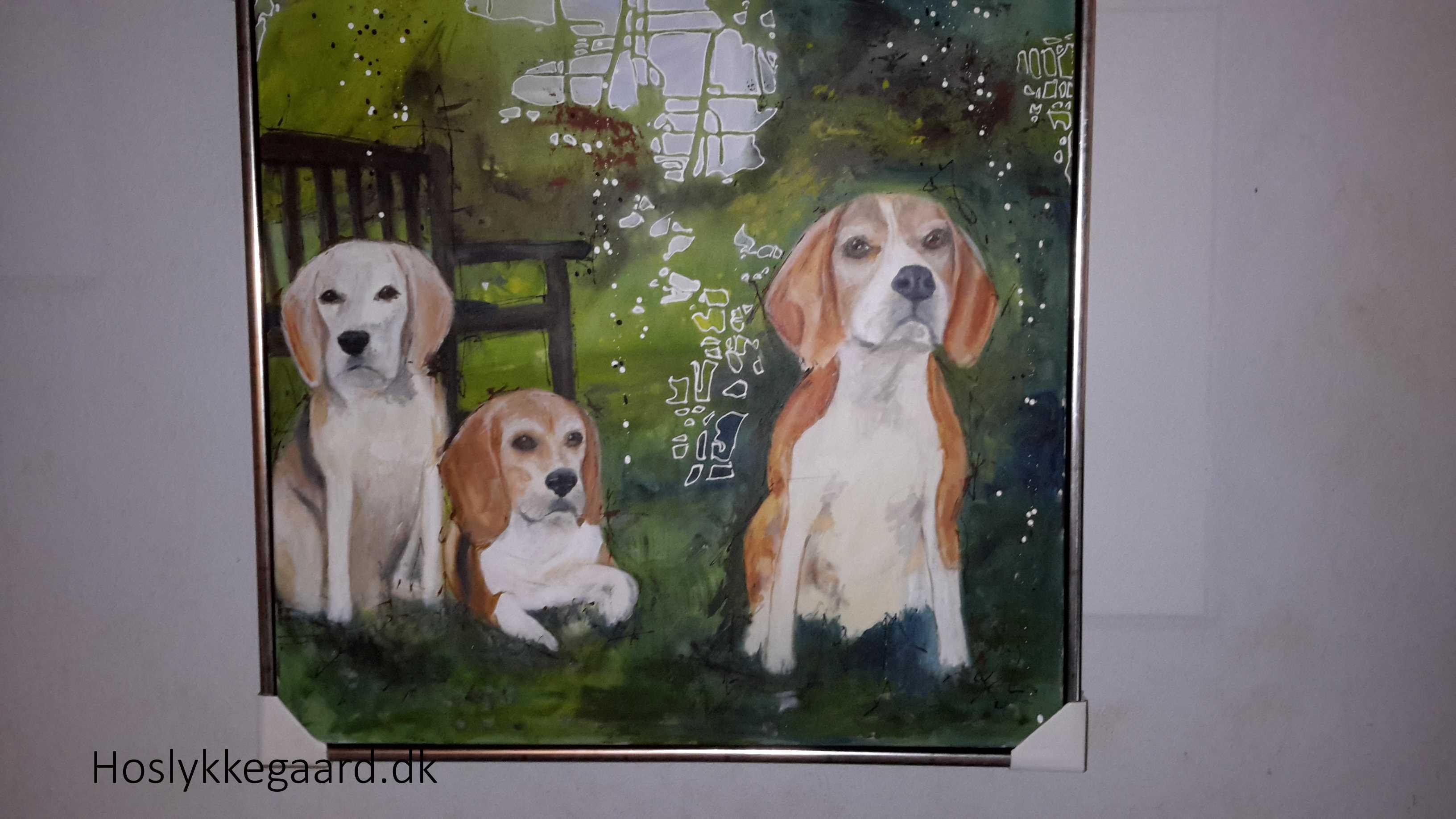 Beaglepack - maleri